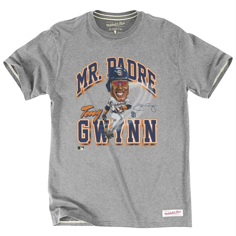 info for 834be 05e0e Details about Tony Gwynn San Diego Padres Mitchell & Ness ...