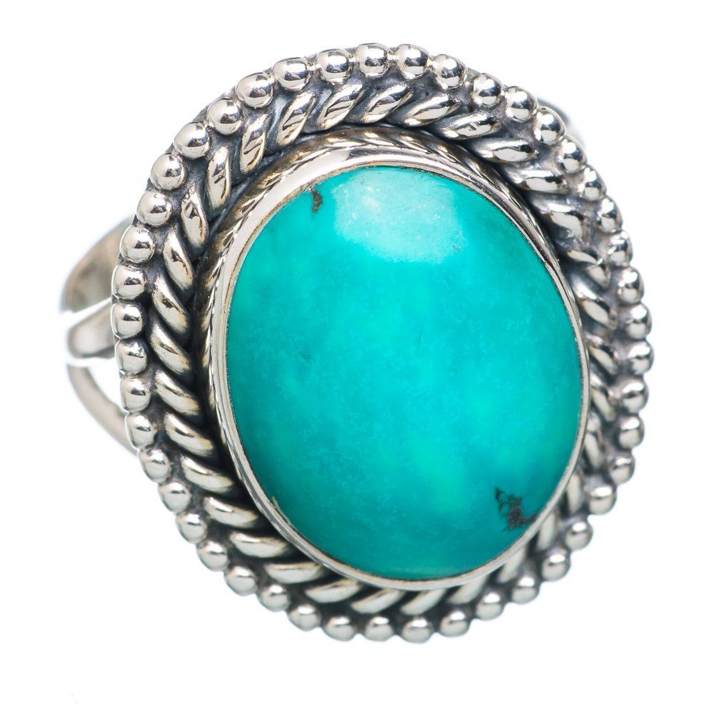 Chrysocolla sterling silver ring size ring products