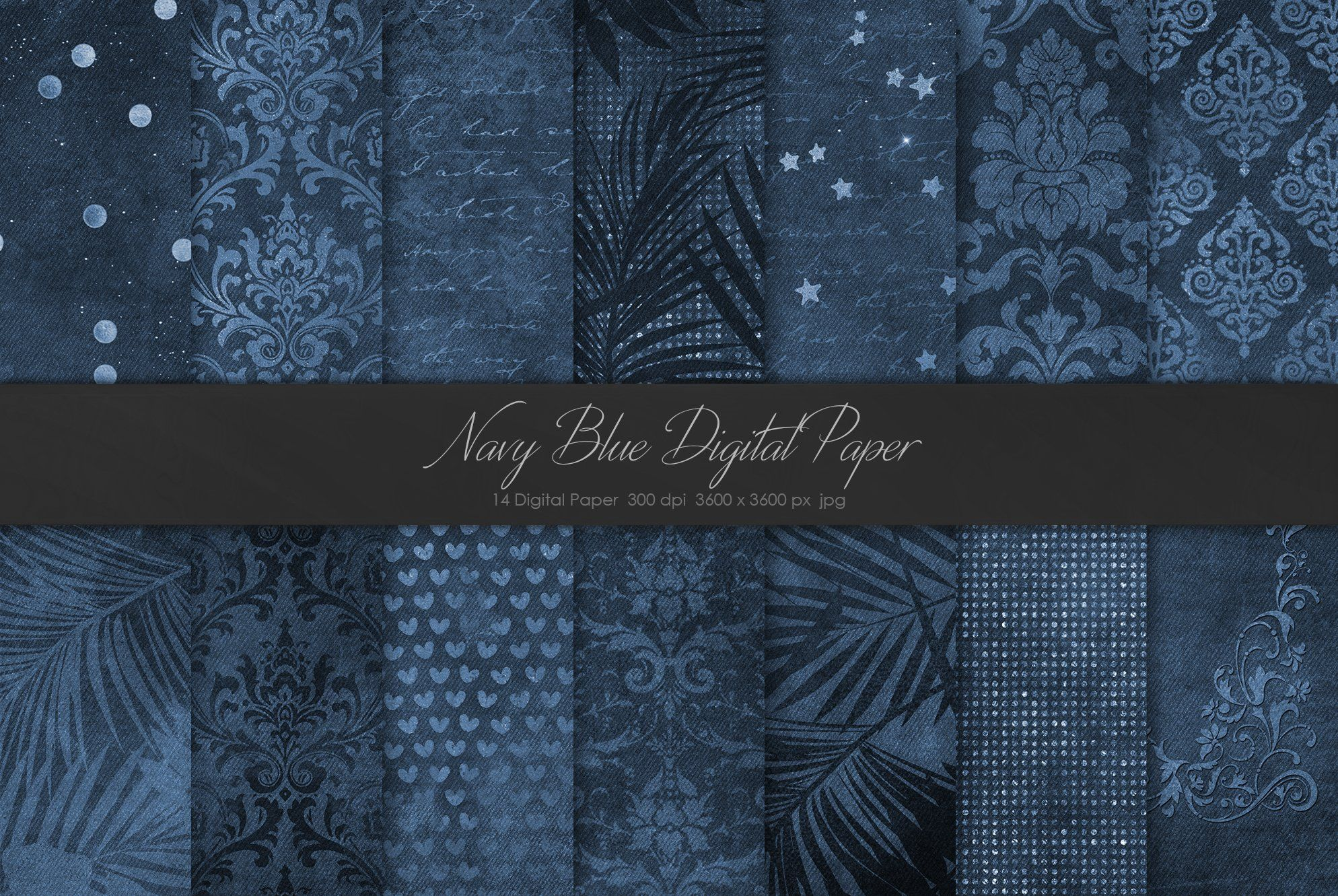 Gold Foil Marble Navy Bundle Graphic Design Resources Graphic Projects Blue Texture