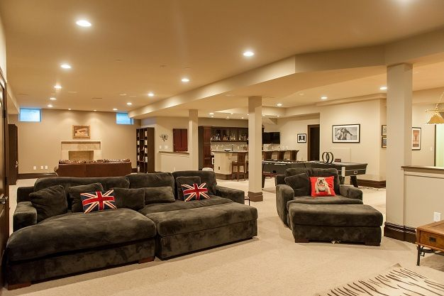 Basement rec room ideas for the home pinterest for Basement recreation room ideas