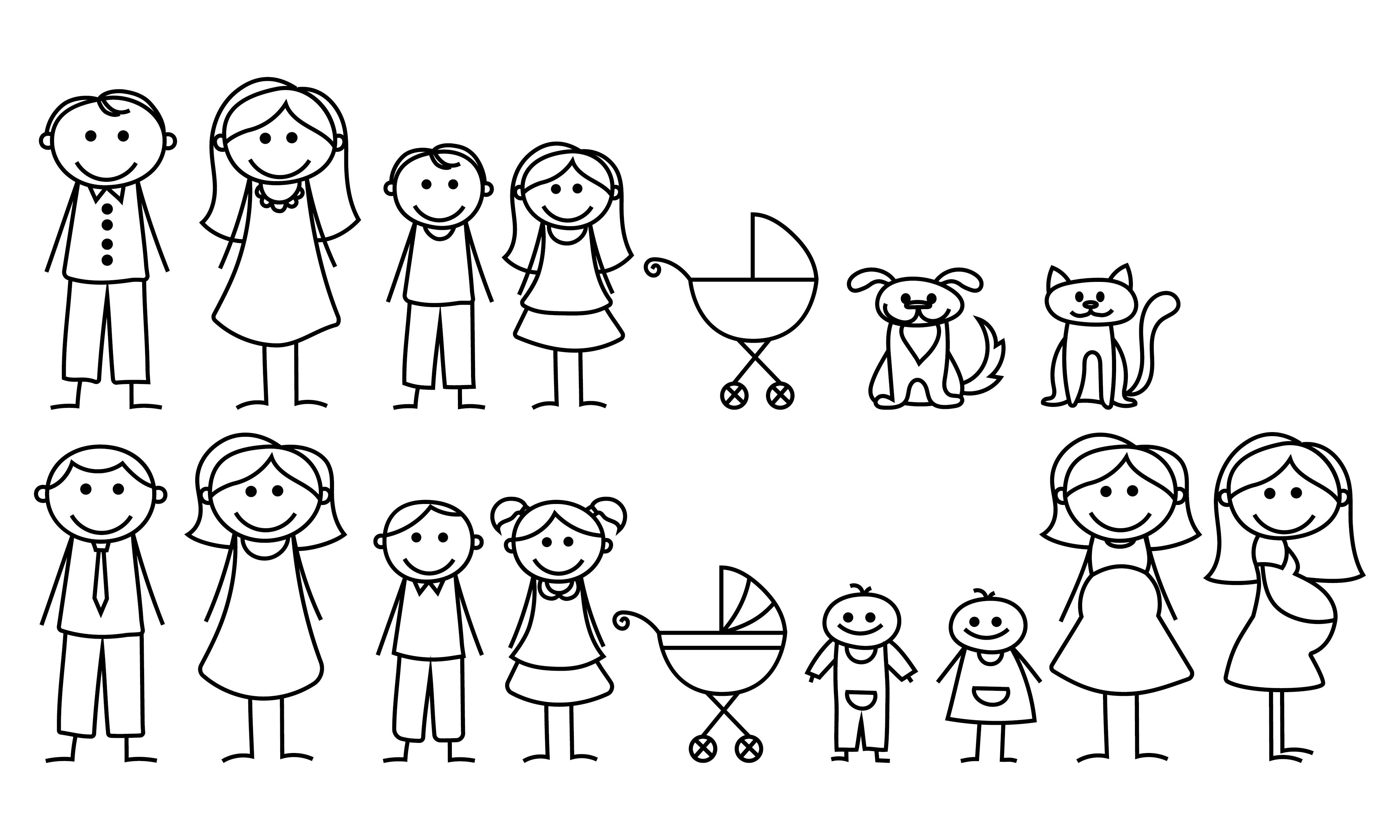 Now available our stick family car decals inbox to order