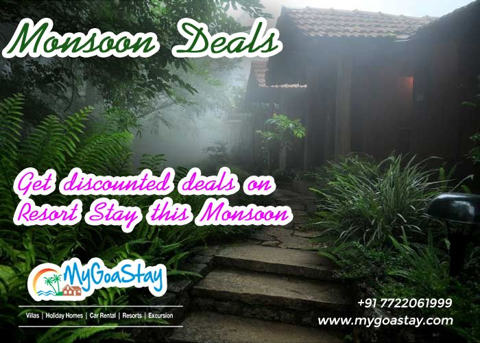 Monsoon has arrived and it is the best time to visit Goa with your family and friends. Here we offer best deals for booking your accommodation in Goa with variety of options to choose.  For more details Contact Name: My Goa Stay Number: 7722061999 E-mail:info@mygoastay.com