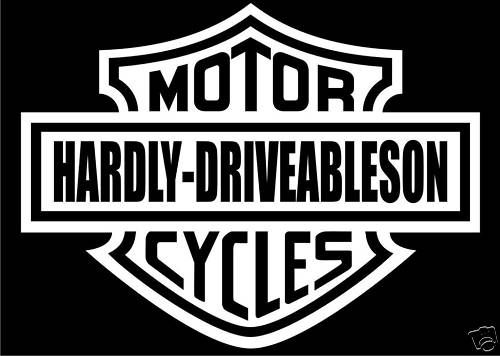 Listed In Funny Decals Harley Davidson Decals Harley Bikes Harley Davidson Logo