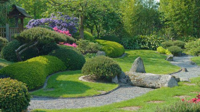 japanischer garten: ausdruck japanischer philosophie | japanese, Gartenarbeit ideen