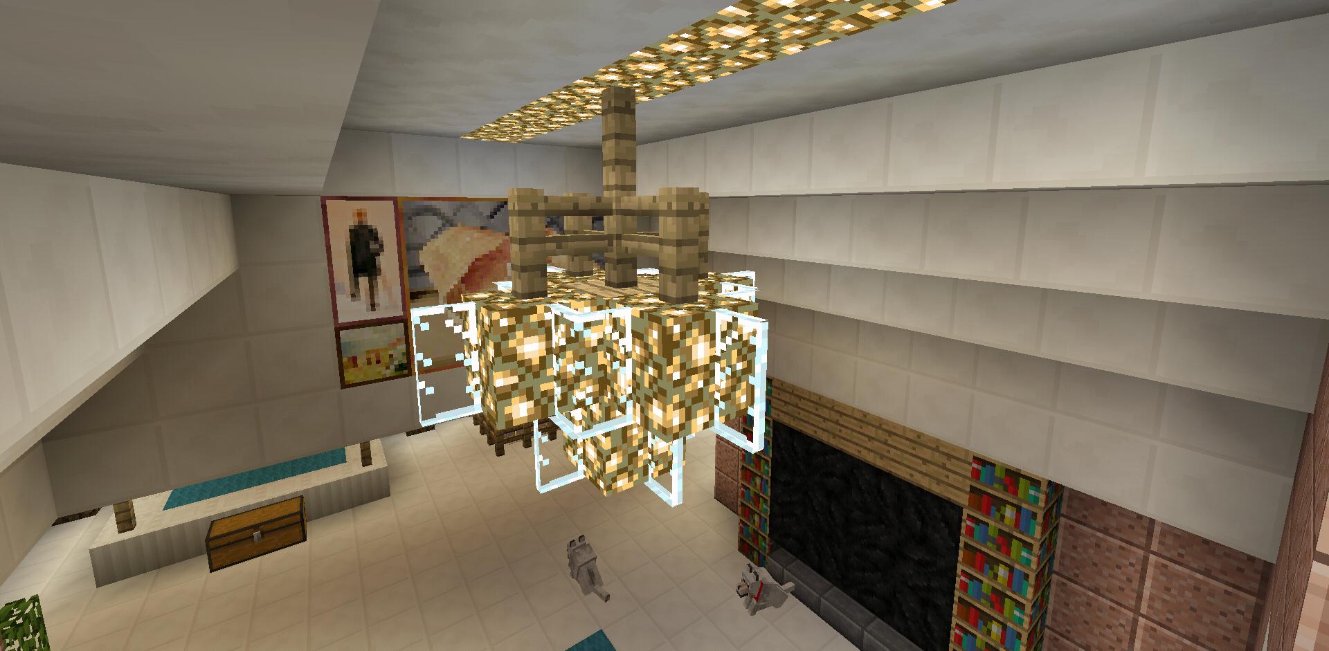 Minecraft Chandelier Lighting Minecraft Minecraft Castle