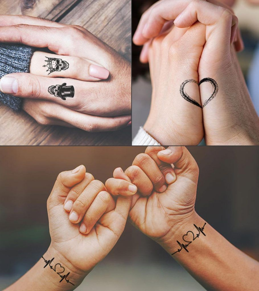 31 Best Matching Couples Tattoos Designs Couples Tattoo Designs Cute Couple Tattoos Best Couple Tattoos