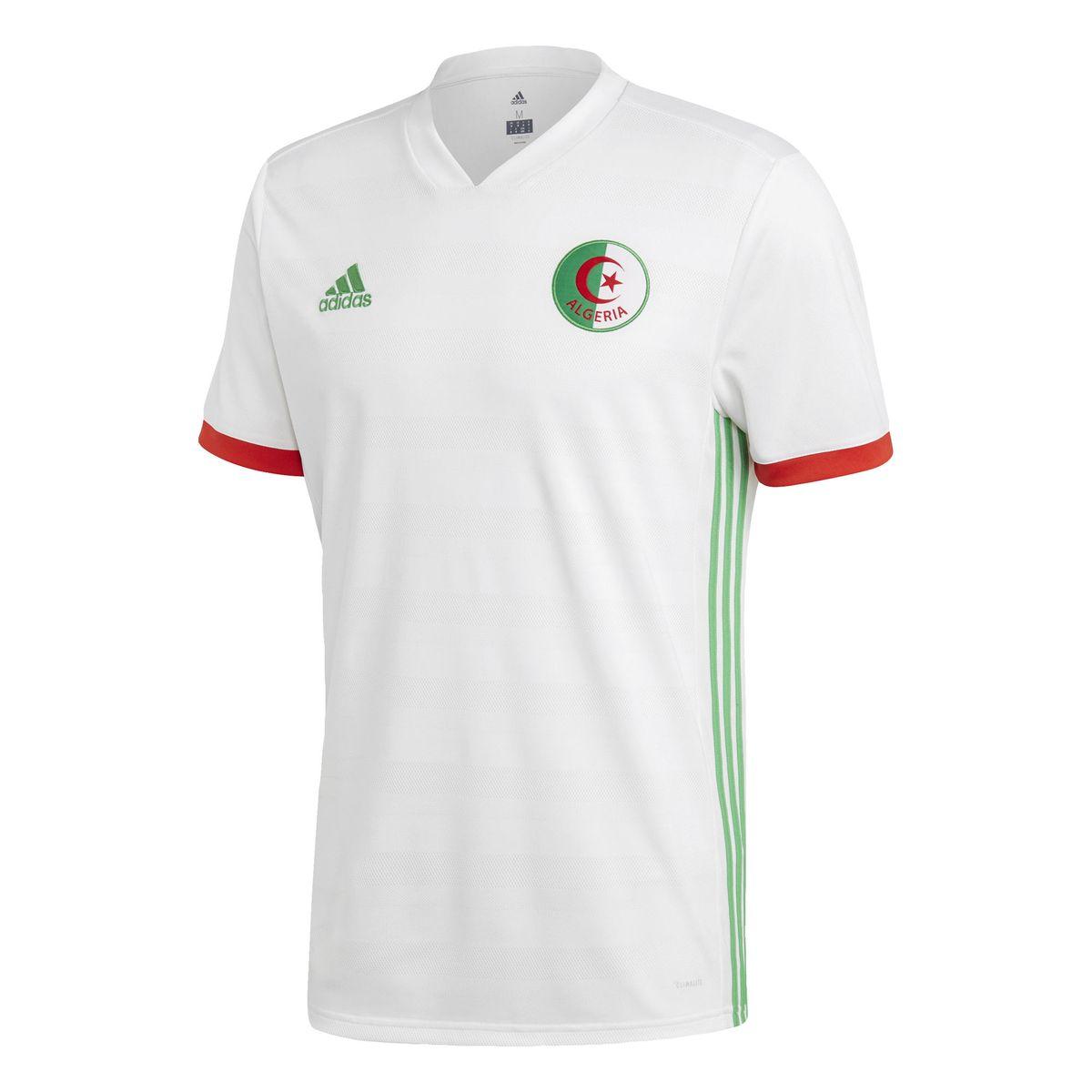 Maillot Algérie Domicile | Maillot algerie, Maillot adidas
