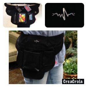 Wonderbaar Heuptas voor in de zorg gemaakt, CreaCrola.nl✂️ | CREACROLA LJ-09