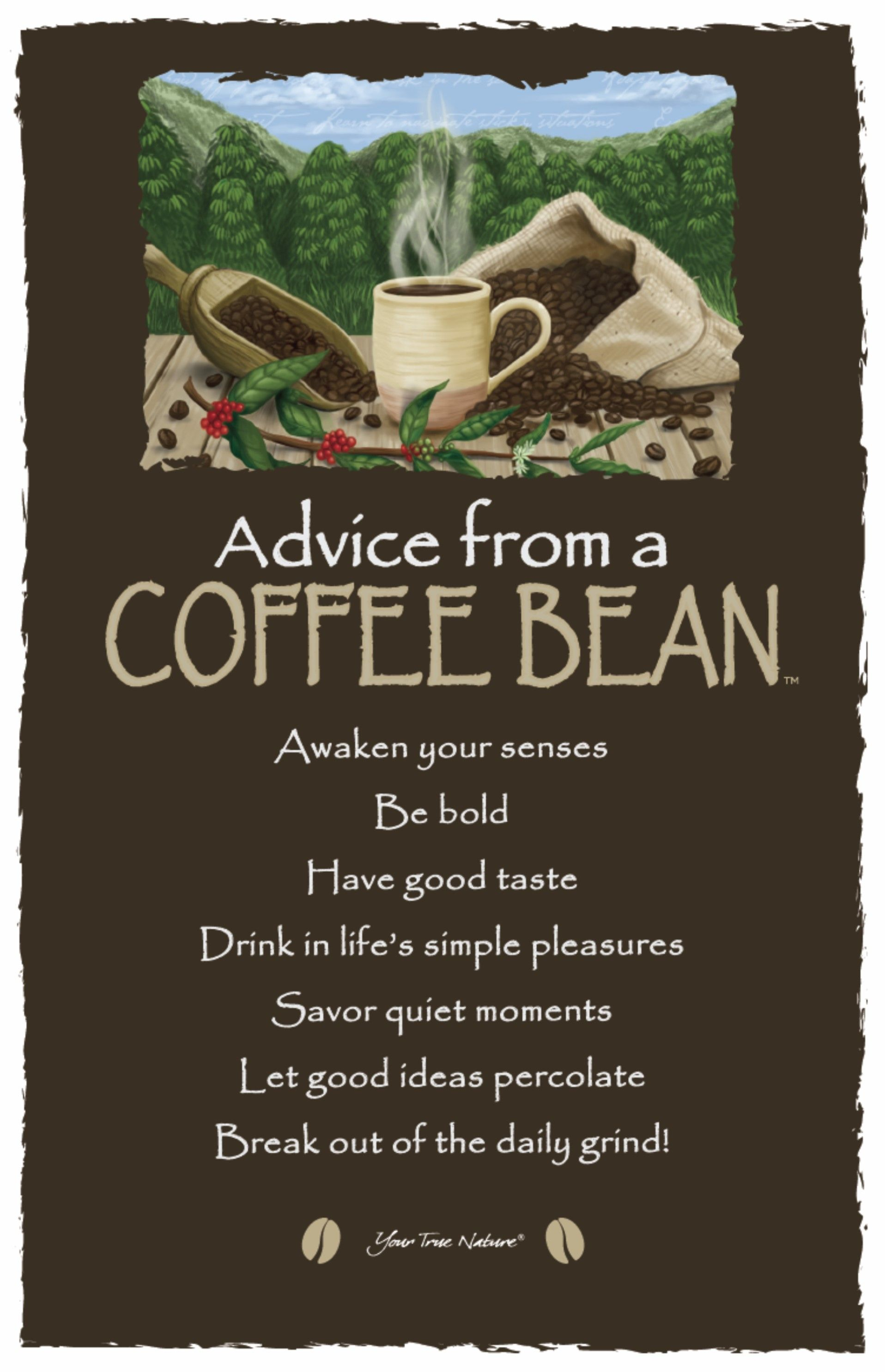 Be Bold Advice From A Coffee Bean Change Coffee Humor Coffee Beans Coffee Quotes