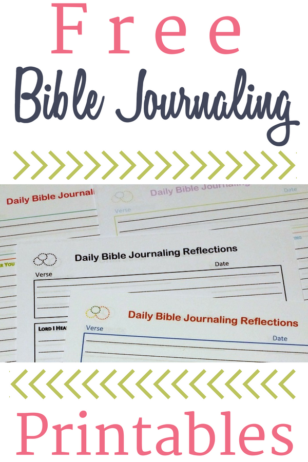 Free Bible Journaling Printables   I ♥ Being a Catholic