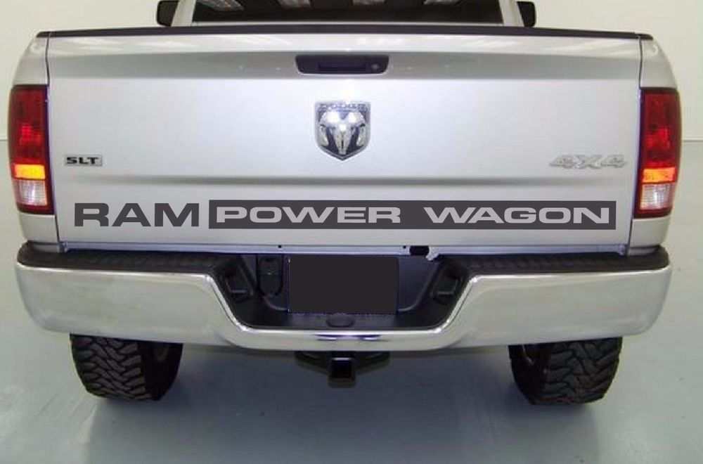 Ram Power Wagon Rear Decal Large 60 Inch Ebay Motors Parts Amp Accessories Car Amp Truck Parts Ebay Power Wagon Ram Power Wagon Wagon