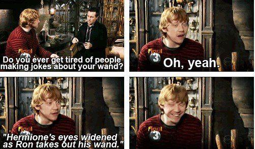 Wand Jokes Harry Potter Funny Harry Potter Interviews Harry Potter Obsession