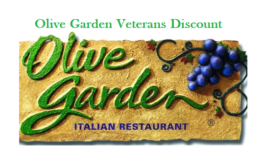 Olive Garden Veterans Discount Free Meal on Veterans Day