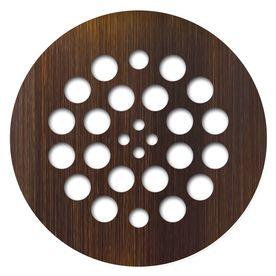 Redi Drain Oil Rubbed Bronze Metal Drain Cover Dp Rd Ob Tile