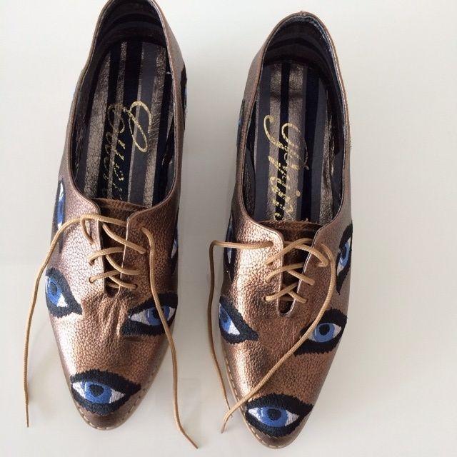 Evil Eye Shoes -- found on BIBANDTUCK.COM #PrintedandPatterned