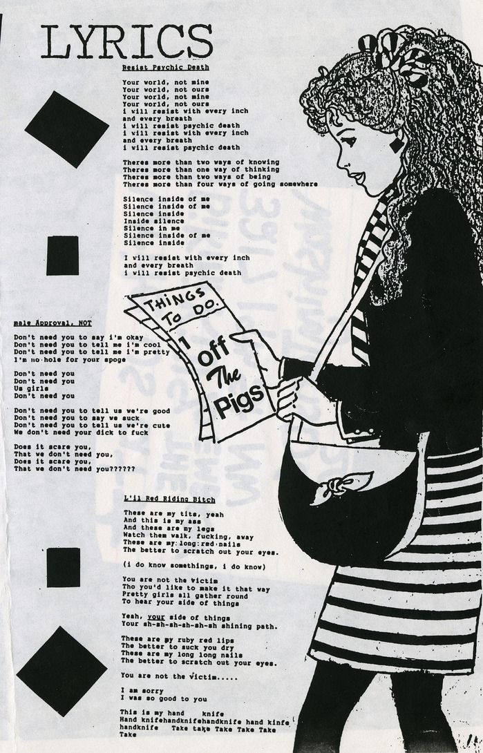 riot grrrl movement essay Riot grrrl- a concrete manifestation of the third wave of feminism riot grrrl is an underground feminist punk movement that started in the early 1990's and is often.