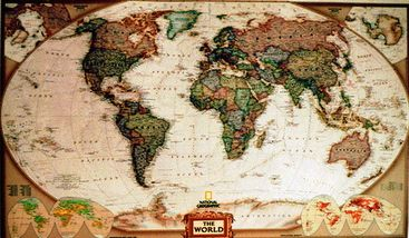 Pin by rp on must see pinterest world executive poster sized wall map tubed world map national geographic reference map a book by national geographic maps reference gumiabroncs Choice Image