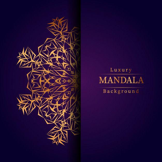 Luxury ornamental mandala design backgro... | Premium Vector #Freepik #vector #mandala #luxury #golden #creative