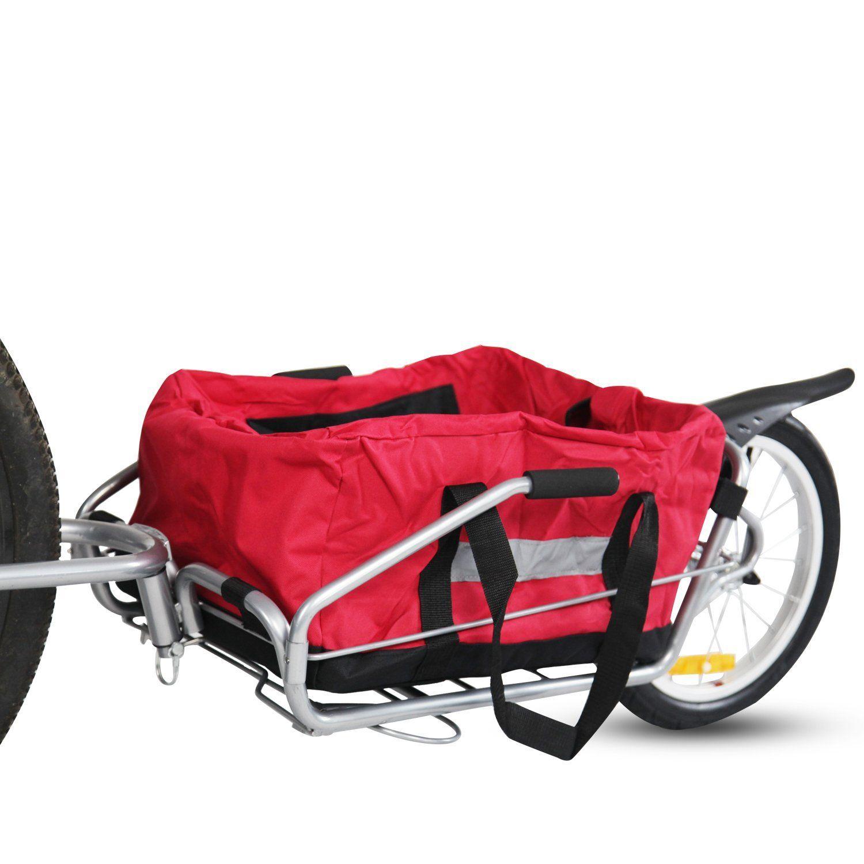 Peach Tree New 2in1 Steel Single Wheel Pet Bike Cargo