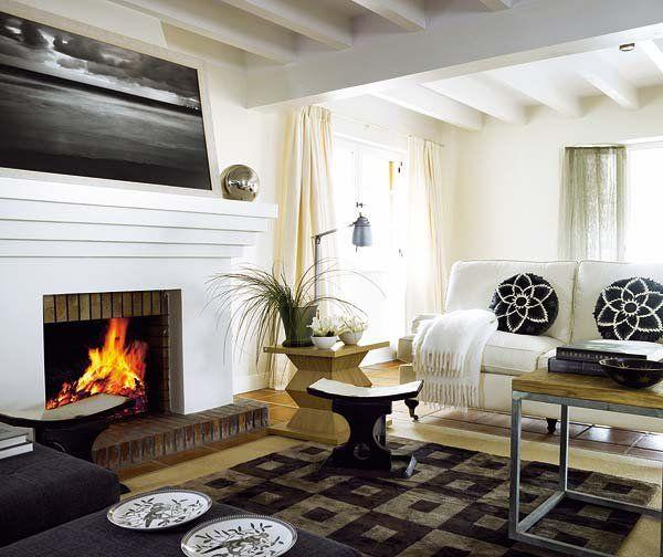 Las mejores chimeneas decorativas chimenea decorativa for Chimeneas decorativas