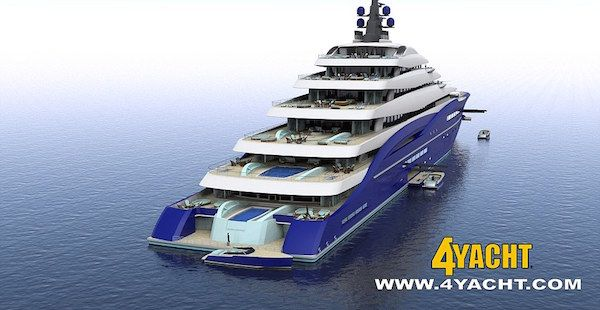 The World S Largest Yacht Has Two Helipads And Costs Nearly 800