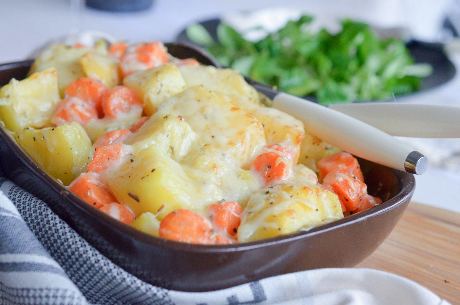 gratin de légumes d'hiver | idées recettes de noisette | pinterest