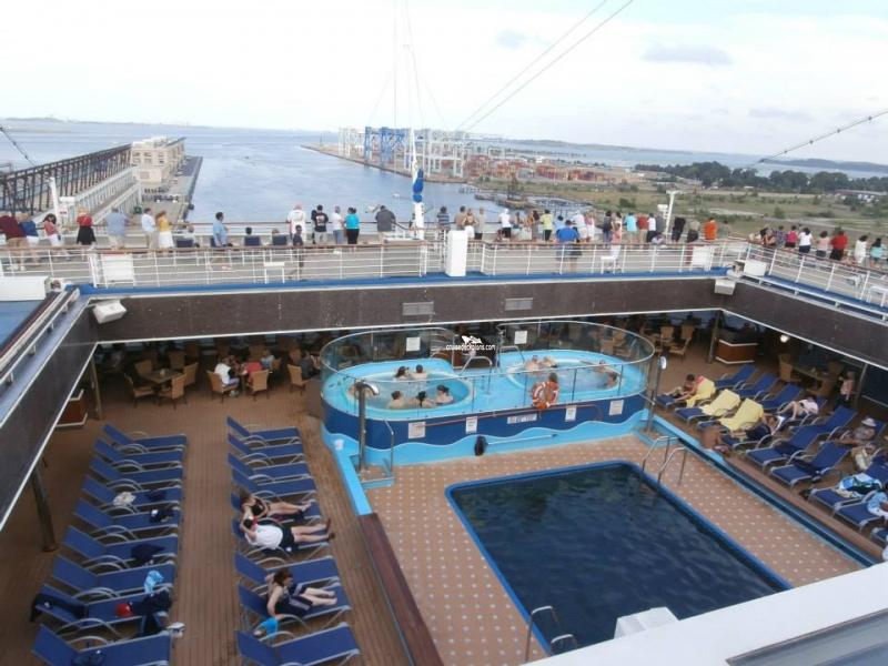 Azure Pool   Mexico cruise, Western caribbean cruise ...