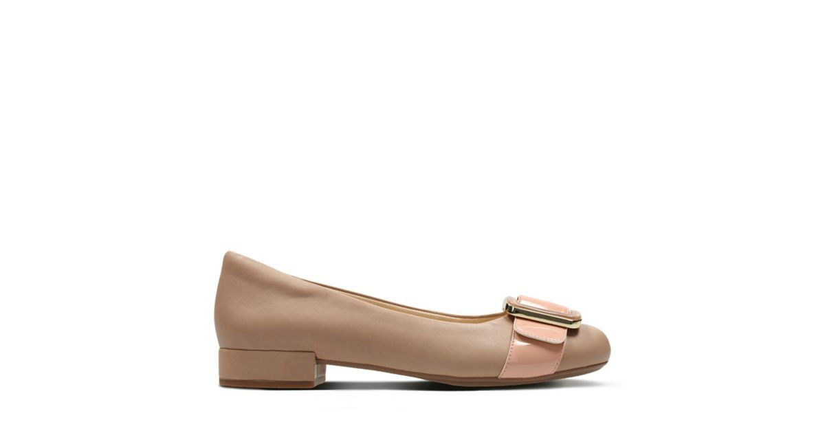 Rosabella Faye Nude Combi Leather Women's New Arrivals