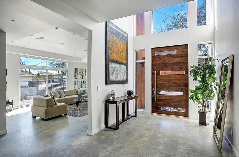 15 Beautiful Modern Foyer Designs That Will Welcome You Home With