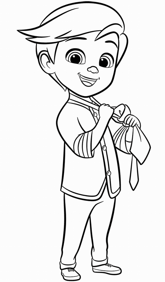 Top 10 The Boss Baby Coloring Pages | Lembrancinhas para ...