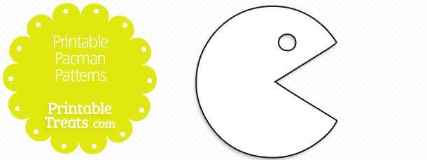 Printable Pacman Patterns Printable Patterns Templates Printable Free Printables