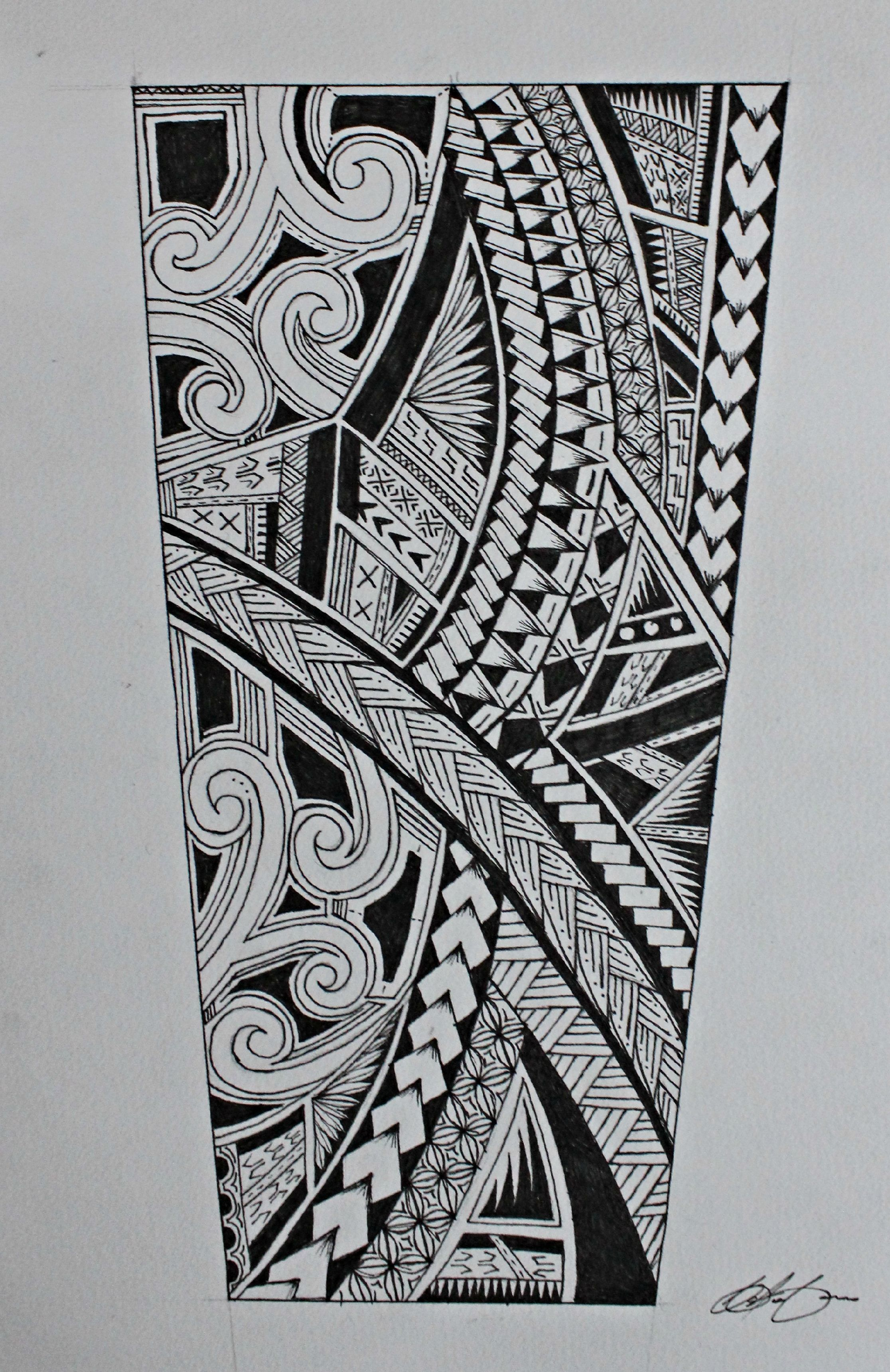 Samoan Tattoo, Tribal Forearm Tattoos