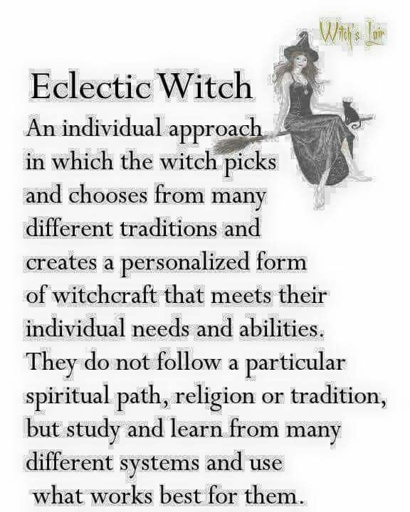 I've called it the Orthodoxy of Christie - a play on my Christian roots - for decades! I didn't understand 'til mid-life that I am, in fact, a witch. A little red-haired witch with a black cat, no less! :)