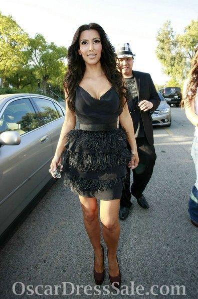 Kim Kardashian Beautiful Dress