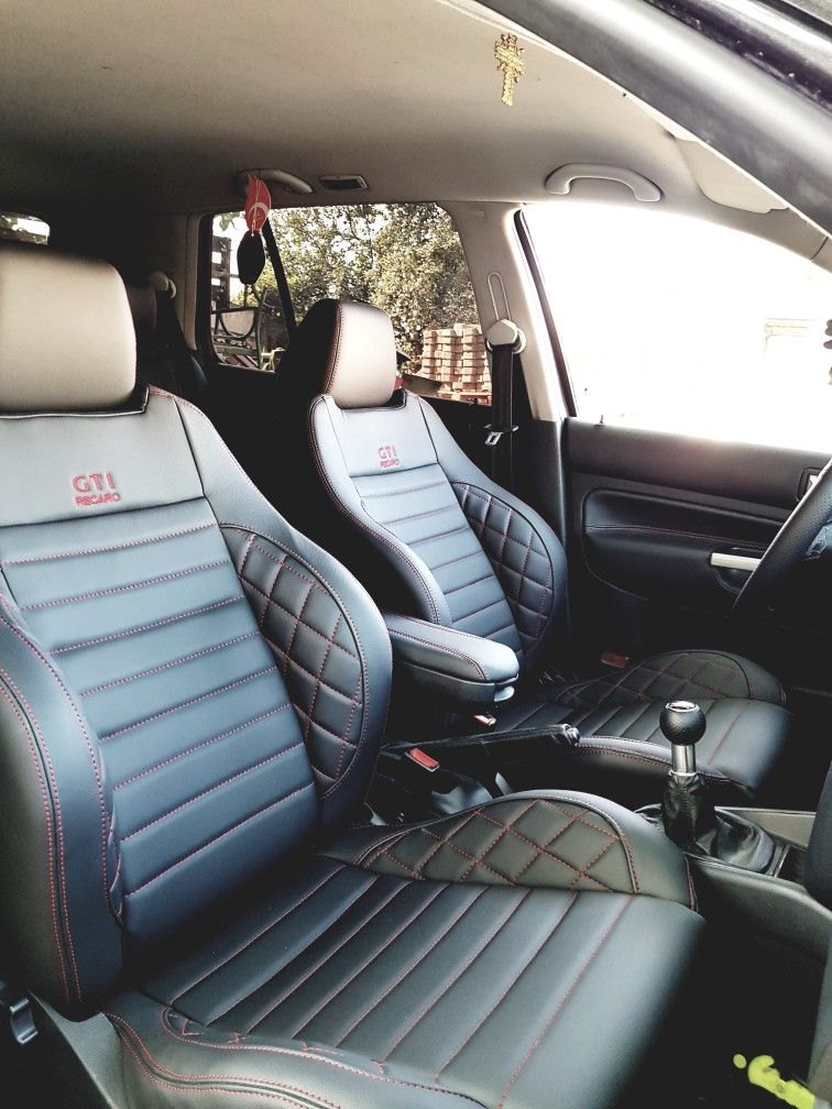 Mk4 Vw Volksvagen Interior Black And Red Black Red Custom Interior
