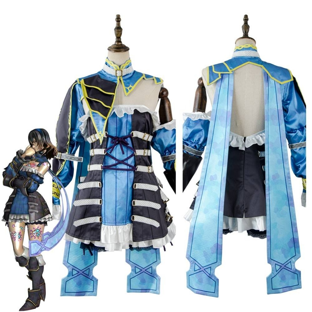 Bloodstained ritual of the night miriam cosplay costume