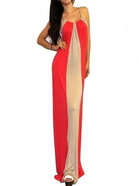 Fantastic Halter Blended Assorted Color Maxi-dress Maxi Dresses from fashionmia.com