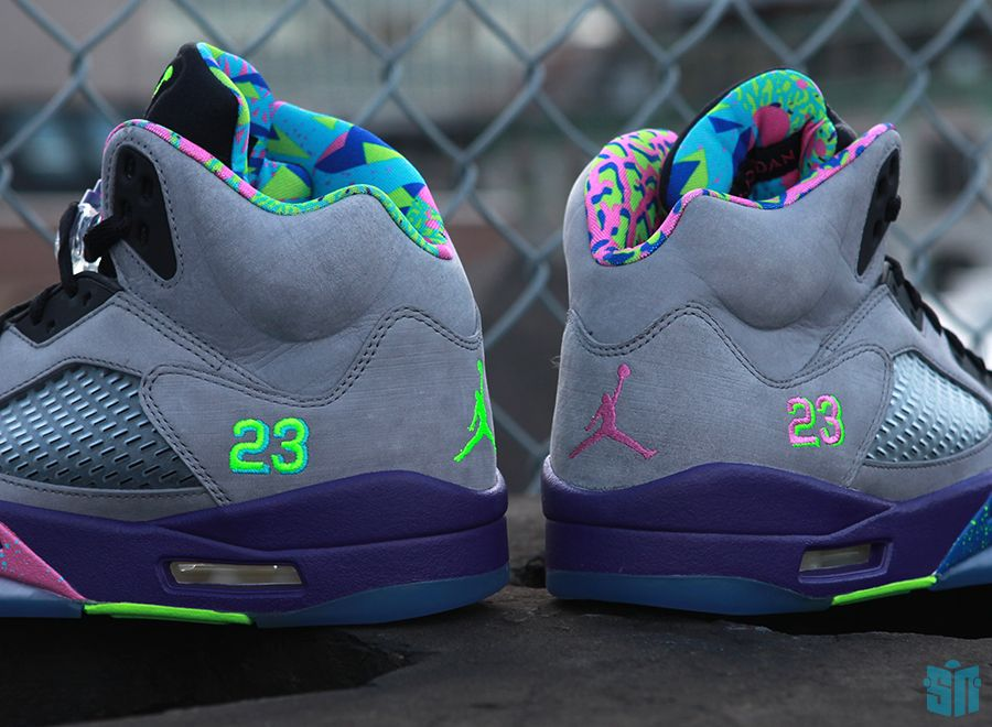 jordan retro 5 bel air