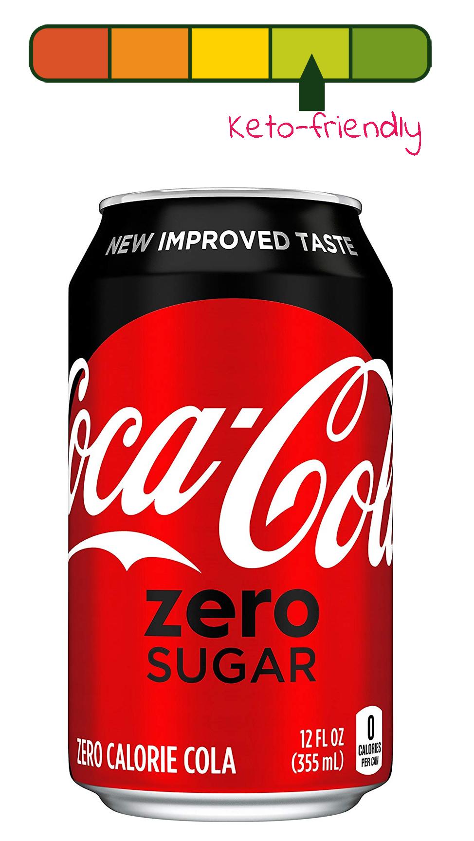 keto diet coke or coke zero