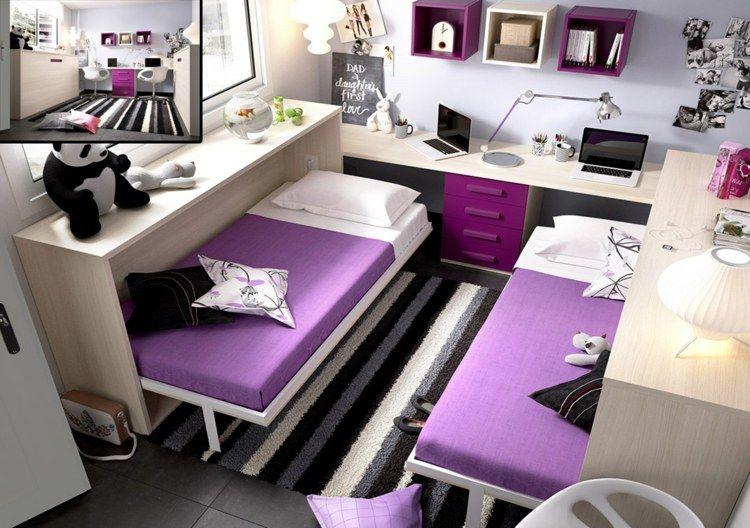 Aménagement chambre deux enfants - 25 idées astucieuses | Deux ...