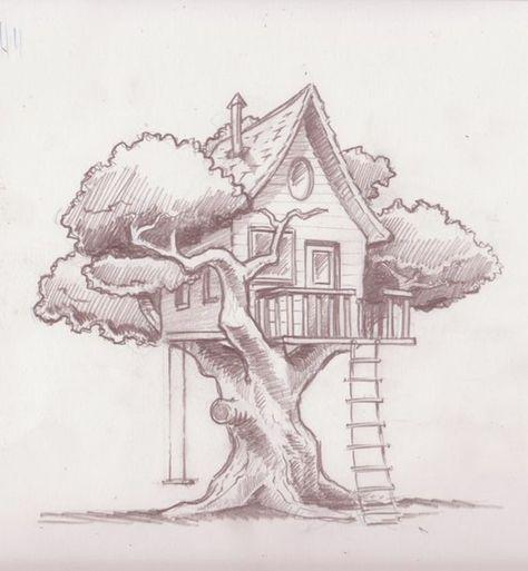 ▷ 1001 + idées pour dessiner un arbre merveilleux avec exemples