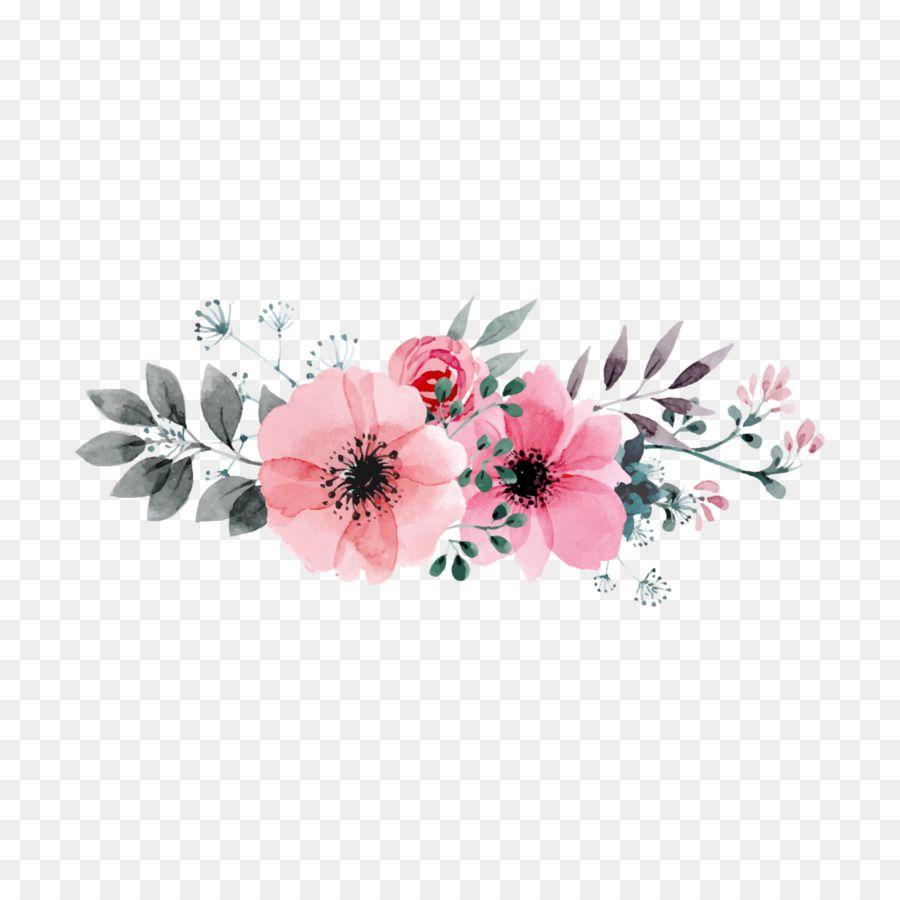 Pin De Paanseung En Photoshop Flores Vectorizadas Imagenes Png Sin Fondo Acuarela Floral