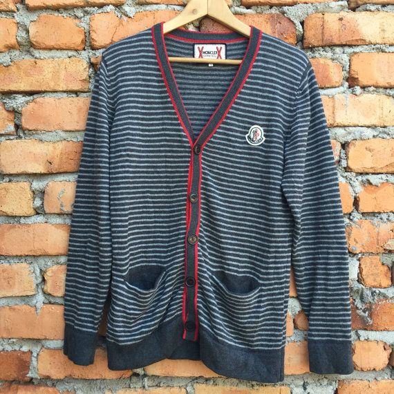 MONCLER x Gamme Bleu cardigan by Hafiyvintagestore on Etsy