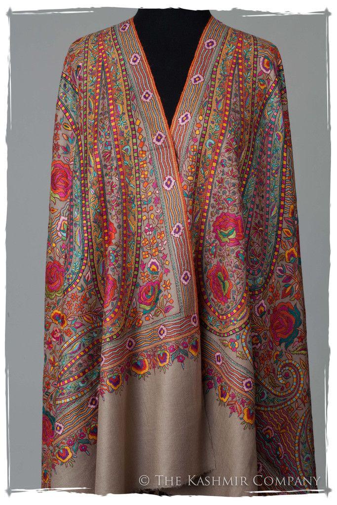 3781374c77 The Socialite - Jamawar Pashmina Kashmir Shawl | textile in 2019 ...