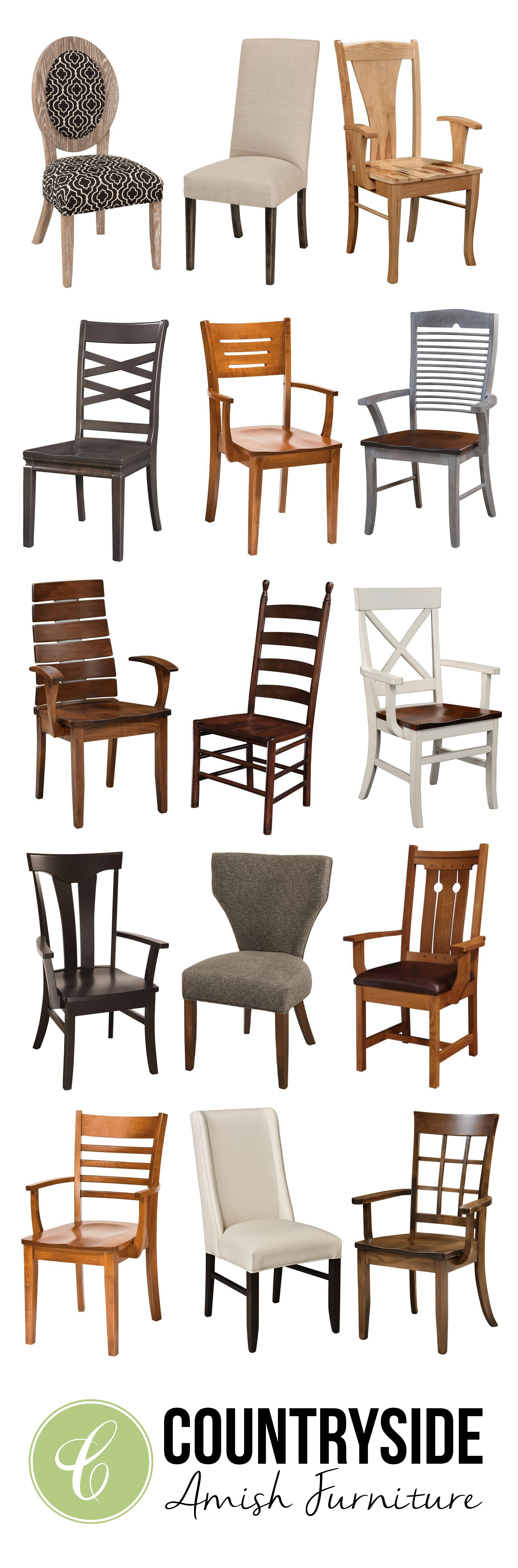 Choosing A Dining Chair Style Types Of Dining Chairs Chaises De