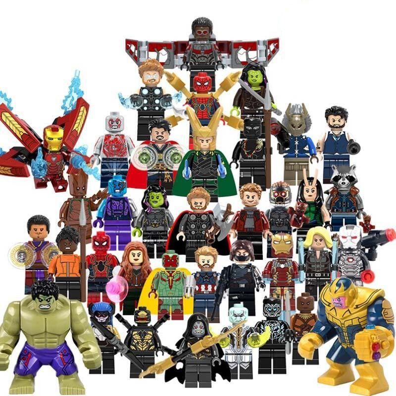 Superhero Movies Super Hero Mini Figure Home Collection Toys Model Kids Gifts