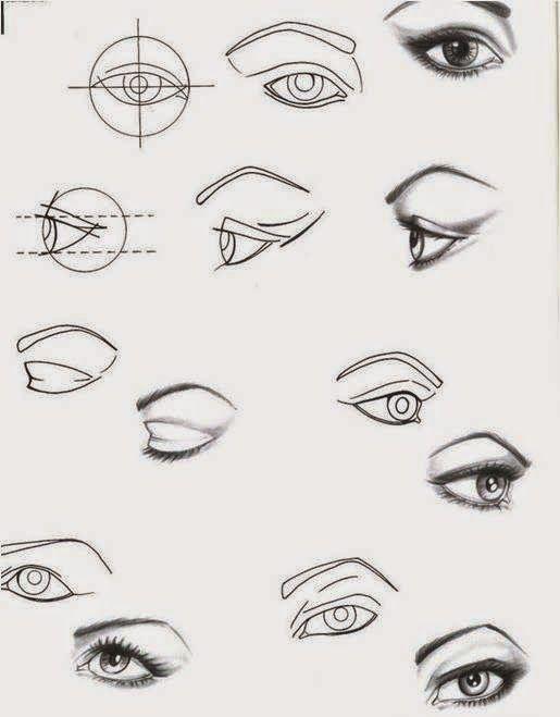 Design de moda: como desenhar olho, boca e nariz | desenhos ...
