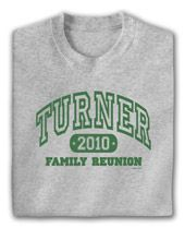 family reunion t-shirt ideas | Family Reunion T-shirts - Designs for Family Reunion Shirts| Ink Pixi