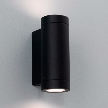Astro Lighting   Black Porto Outdoor Wall Light   - Trouva