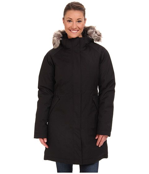 The north face arctic parka black